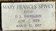 Mary Frances <I>Spivey</I> Harrelson