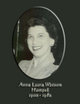 "Profile photo:  Anne Laura ""Annie"" <I>Watson</I> Hampel"