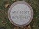 Profile photo:  Ada Scott