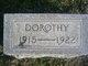 Dorothy Isabell Davis