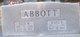 Profile photo:  Marie <I>Beall</I> Abbott