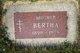 Profile photo:  Bertha <I>Skaff</I> Abraham