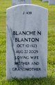 Profile photo:  Blanche Norah <I>Beattie</I> Blanton