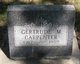 Profile photo:  Gertrude M <I>Nett</I> Carpenter