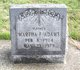 Profile photo:  Martha F. <I>Morrison</I> Adams