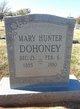"Mary Groggins ""Mollie"" <I>Hunter</I> Dohoney"