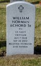 "Profile photo:  William Norman ""Bill"" Achord, Sr"