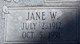 Profile photo:  Jane <I>Wood</I> Firmage