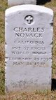 Profile photo:  Charles Novack