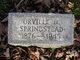 Orville D. Springstead