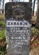 Sarah M <I>West</I> Cooper