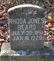 Rhonda Jones <I>Rose</I> Beard