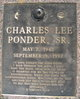 Charles Lee Ponder, Sr