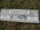 Profile photo:  Anna Grace <I>Clark</I> Ambrose