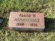 Profile photo:  Allen Webster Armantrout