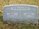 """Sarah """"Sallie"""" <I>Holbrook</I> O'Banion"""