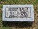 """Heinrich """"Henry"""" Baum"""