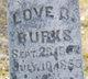 Love C. Burks