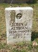 Profile photo:  John J Altman