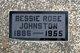 Bessie Rose <I>Caldwell</I> Johnston