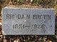 Rhoda Nancy <I>Williams</I> Brown