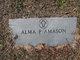 Profile photo:  Alma <I>Peterman</I> Amason