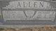 "Profile photo:  Lillian Grace ""Lilly"" <I>Lively</I> Allen"