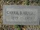 Carrie Muse <I>Burden</I> Arnold