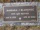 Barbara J <I>Wolfe</I> Blahovec