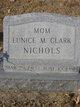 Profile photo:  Eunice M. <I>Clark</I> Nichols