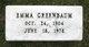 Emma V. <I>Cole</I> Greenbaum