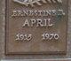 Ernestine Beulah <I>Hart</I> April