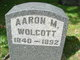 Profile photo:  Aaron M Wolcott