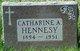 Profile photo:  Catharine H Hennesy
