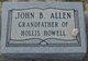 Profile photo:  John B. Allen