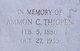 Ammon Cordelius Thigpen
