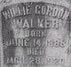 Willie Gordon Walker