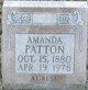 Profile photo:  Amanda <I>Hughes</I> Patton
