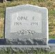Profile photo:  Opal Pendland <I>Norris</I> Short