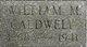 William M. Caldwell