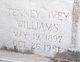Tenney <I>Ivey</I> Williams