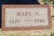 Mary Anna <I>Larson</I> Albers-Peterson
