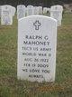 Ralph Gregory Mahoney