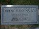Lorene E. <I>Hankins</I> Box