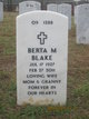 Berta May <I>Probus</I> Blake