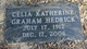 Profile photo:  Celia Katherine <I>Graham</I> Hedrick