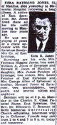 Ezra Raymond Jones