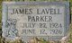 Profile photo:  James Lavell Parker