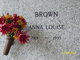 Profile photo:  Anna Louise Brown