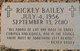 Profile photo:  Rickey Bailey
